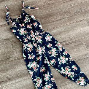 Pants - Adorable cotton floral jumpsuit.